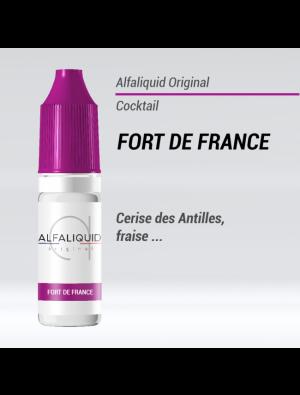 Gamme de liquide ALFALIQUID 10ml goût Fort de France