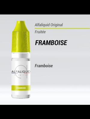 Gamme de liquide ALFALIQUID 10ml goût Framboise