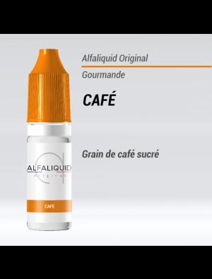 Gamme de liquide ALFALIQUID 10ml goût café