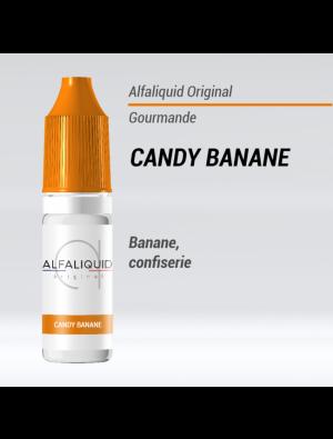 Gamme de liquide ALFALIQUID 10ml goût banane