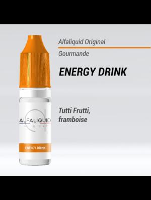 Gamme de liquide ALFALIQUID 10ml goût Energy Drink