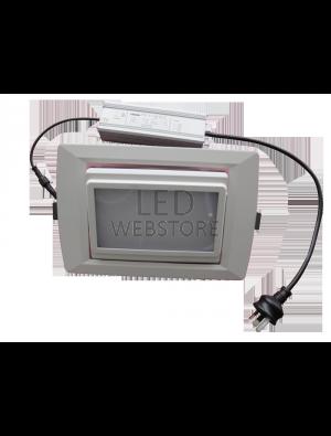 Spots LED encastrables COB 35W - Angle changeable IP66 - Blanc chaud