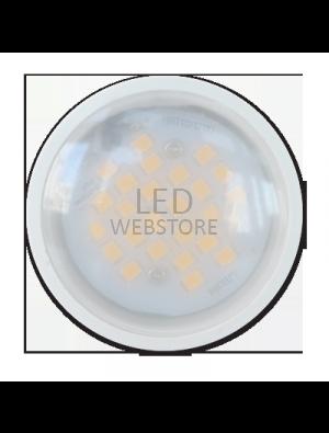 Spot LED 6W GU10 230V PLASTIQUE ALUMINIUM - LED Epistar SMD - Blanc Froid