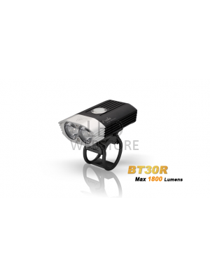 Fenix BT30R - 1800 Lumens - avec commande guidon et rechargeable - batterie incluse
