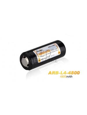 1 Pile rechargeable ARB-L4-4800mAh 26650 li-ion pour PD40, PD40R et FD40