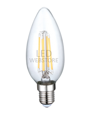 Ampoule LED 4W 230V E14 - Verre - Blanc Naturel
