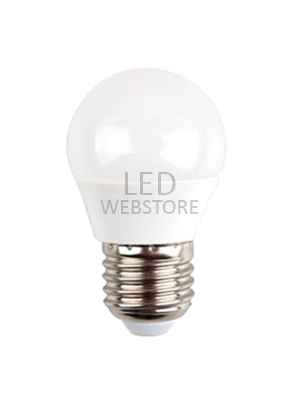 Ampoule LED 6W 230V E27 - Plastique - Blanc naturel