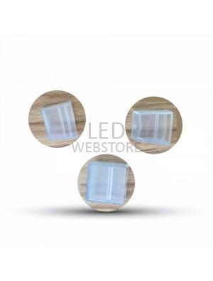 Bouchon sécuritaire pour les néons flexibles