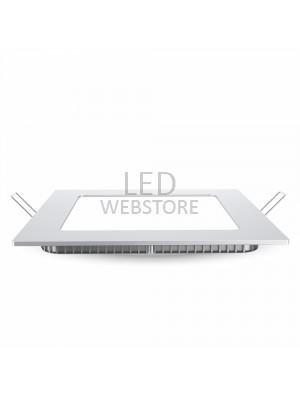 Panneau LED premium 12W 230V - Carré - Blanc naturel
