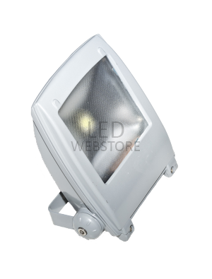 Projecteur LED 10W - Design Gris - Blanc froid