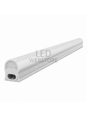 Tube LED T5 4W - 30 cm - Montage batten - Blanc naturel