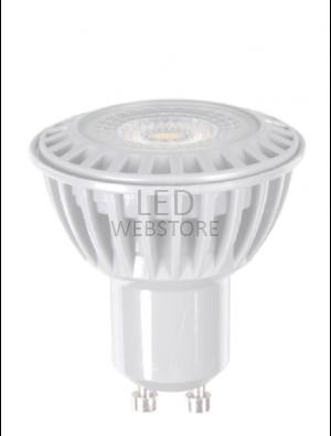 Spot LED 6W GU10 230V - Plastique premium - Blanc Chaud
