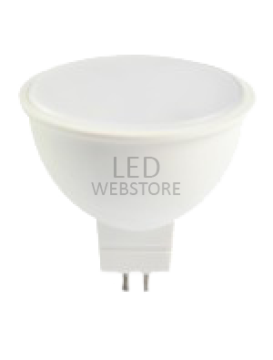 Spot LED 7W MR16 12V - Plastique SMD - Blanc chaud