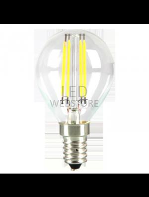 Ampoule LED 4W 230V E14 P45 - Verre - Blanc Naturel