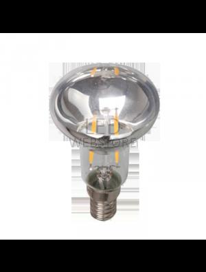 Ampoule LED 2W 230V E14 - Verre - Blanc Chaud