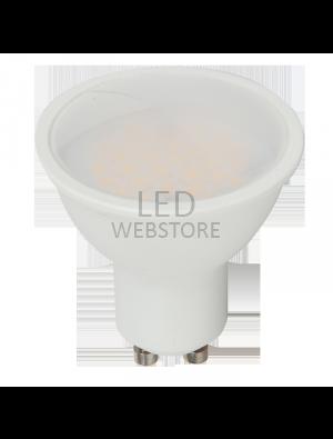 Spot LED 7W GU10 220V - Plastique - Blanc naturel dimmable