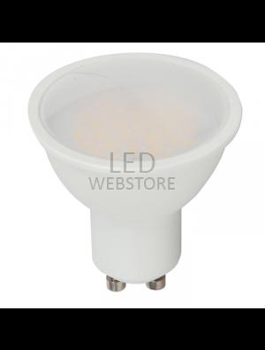 Spot LED 5W GU10 220V - Plastique SMD - Blanc froid