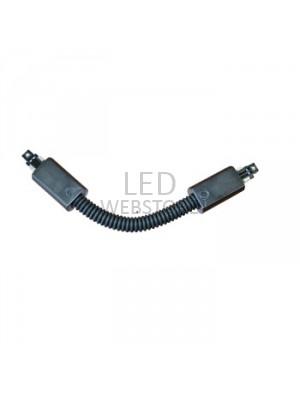 Joint flexible 4 core pour les lampes rail - Noir
