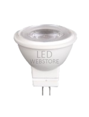 Spot LED 2W MR11 12V - Plastique - Blanc naturel