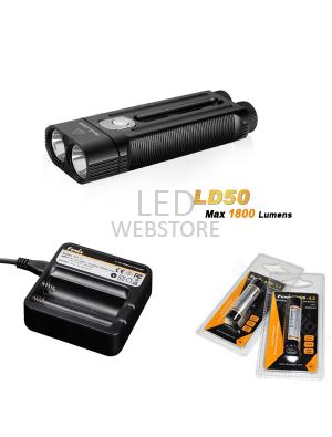 Pack Fenix LD50 - 1800 Lumens
