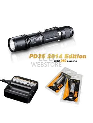 Pack Fenix PD35 édition 2014 - 960 Lumens