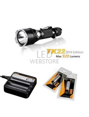 Pack Fenix TK22 édition 2014 - 920 Lumens