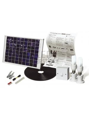 Solar Mate 2 - Kit d'éclairage solaire 10w