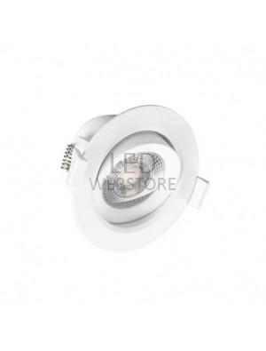 SPOT LED PLAFOND 7W orientable avec faisceau de 38° + alimentation