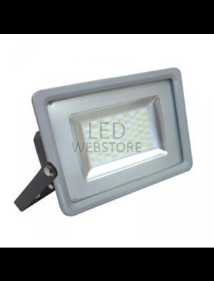 Projecteur LED 100W - SMD Ultra fin - Blanc chaud