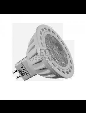 Spot LED 4*1W GU5.3 12V - LED Plastique - Blanc froid