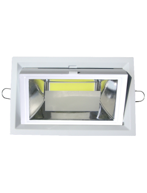Spots LED encastrables COB 30W - Blanc chaud