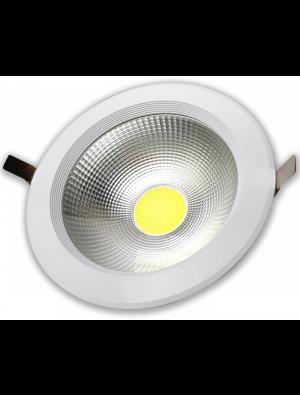 Spots LED encastrables COB 30W - Réflecteur - Blanc froid