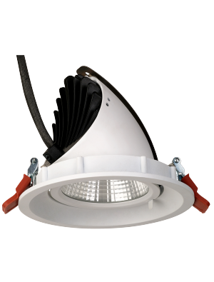 Spots LED encastrables 30W - CREE - Blanc naturel