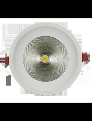 Spots LED encastrables 12W - CREE COB- Blanc chaud