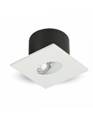 Spots LED encastrables COB 3W - Carré - Blanc naturel