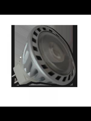 Spot LED 5W MR16 (GU5.3) 12V - LED Sharp COB - Blanc Naturel