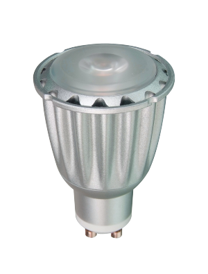 Spot LED 7W GU10 220V - LED Sharp COB - Blanc chaud