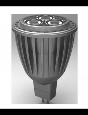 Spot LED 7W GU5.3 12V - LED Epistar - Blanc chaud