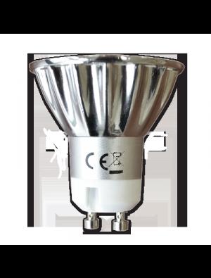 Spot LED 4*1W GU10 230V - Blanc chaud
