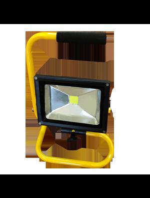 Projecteur LED 20W - Classique Avec Support - Blanc froid