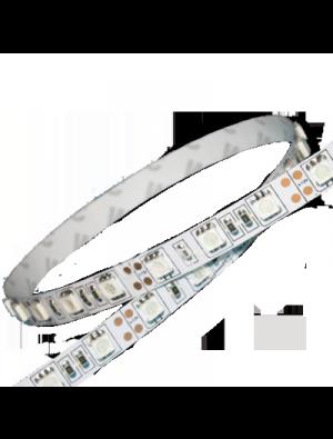 Bande Led SMD5050 60 LEDs - RGB + Blanc froid