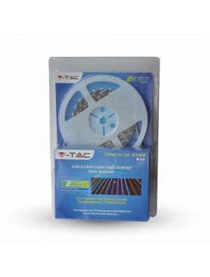 Bande Led Rigide SMD5630 72 LEDs 6W 600Lm - Blanc chaud