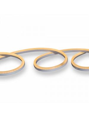 Néon flexible LED 24V - Jaune - rouleau de 10 mètres