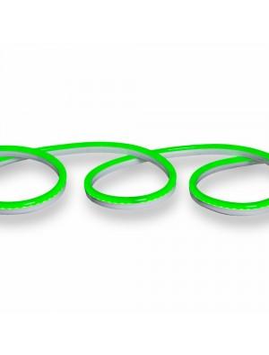 Néon flexible LED 24V - Vert - rouleau de 10 mètres