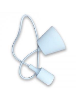 Porte ampoule E27 - Blanc