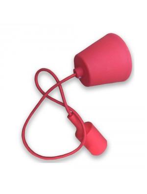 Porte ampoule E27 - Rouge