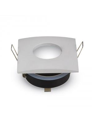Montage pour spots LED GU10 Blanc Matt Carré