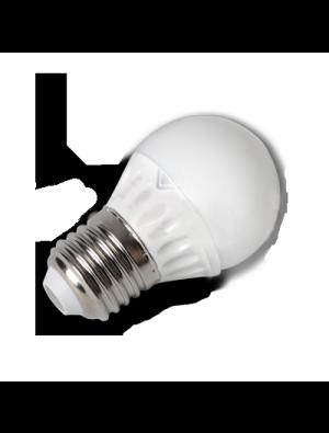 Ampoule LED - 4W 230V E27 P45 - Epistar - Blanc froid