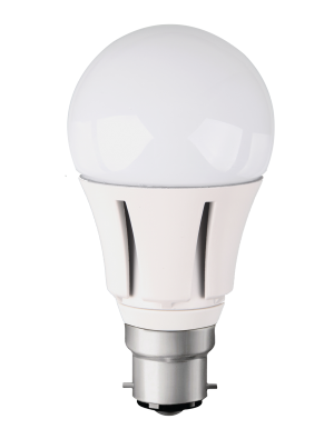 Ampoule LED - 10W 230V B22 A60 - Aluminium - Blanc chaud Dimmable