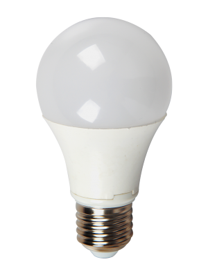 Ampoule LED - 10W 230V E27 A60 - Thermoplastique - Blanc chaud